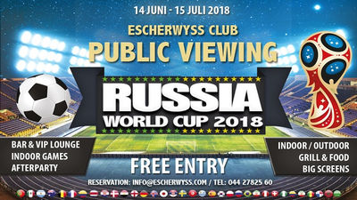WM-Public Viewing im Escherwyss