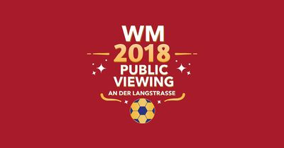 WM Public Viewing im Hiltl an der Langstrasse