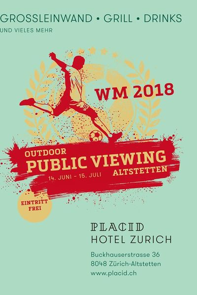 Outdoor Public Viewing Altstetten - Fussball WM 2018