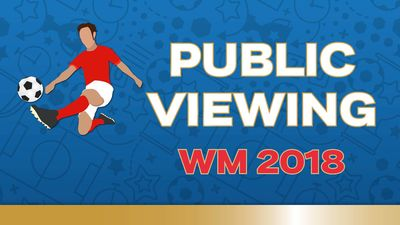 WM 2018 Public Viewing im Tägipark