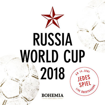 World Cup live im Bohemia | WM Public Viewing 2018