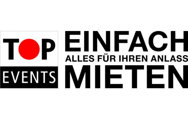 TOP Events - einfach mieten - Mobiliar | Technik | Transport in Bern