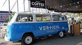 Vertical Coffee Roasters Coffee Truck