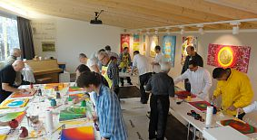 Action-Painting Firmen- und Teamevents, der ultimative Malspass