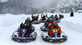 Ice Karting in Verbier