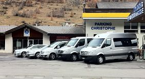 Limousinen, Transporte und Parking in Zermatt