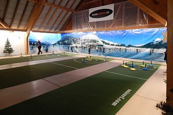 Teppich-Curling mobile Anlage